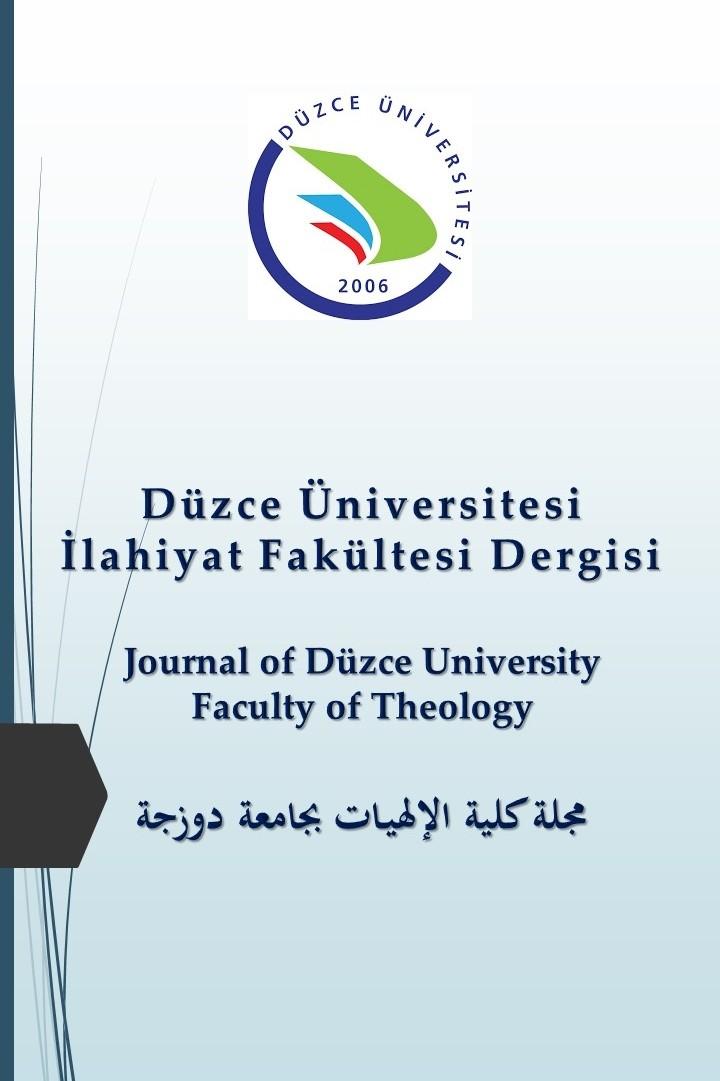 Düzce Üniversitesi İlahiyat Fakültesi Dergisi