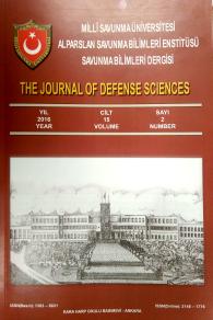Savunma Bilimleri Dergisi