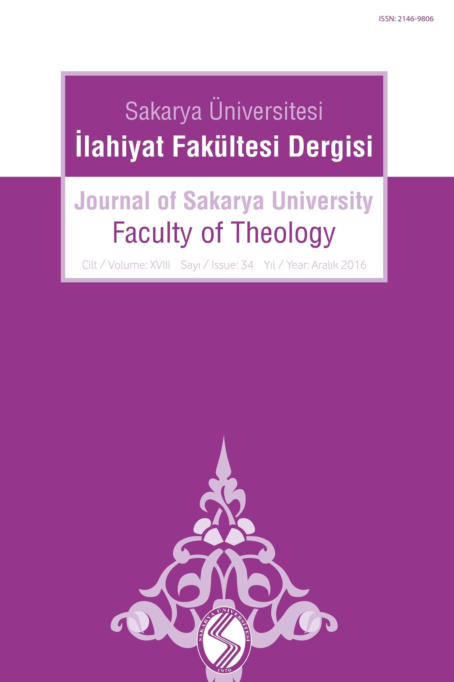 Sakarya Üniversitesi İlahiyat Fakültesi Dergisi (SAUIFD)