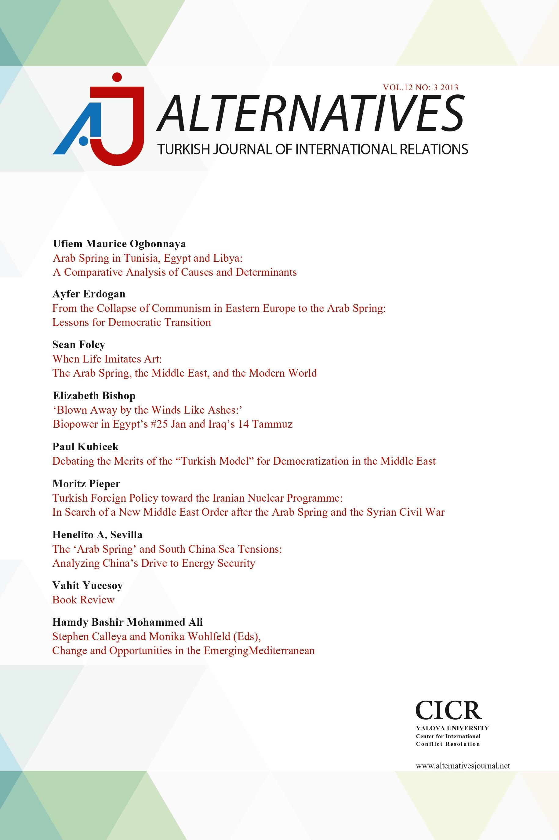 Alternatives :Turkish Journal Of International Relations