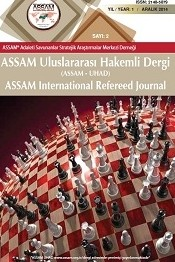 ASSAM Uluslararası Hakemli Dergi