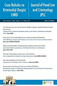 Ceza Hukuku ve Kriminoloji Dergisi / Journal of Penal Law & Criminology