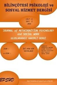 Bilinçötesi Psikoloji ve Sosyal Hizmet Dergisi