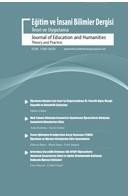 Eğitim Ve İnsani Bilimler Dergisi: Teori Ve Uygulama