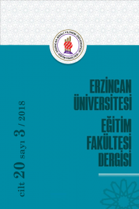 Erzincan University Journal of Education Faculty