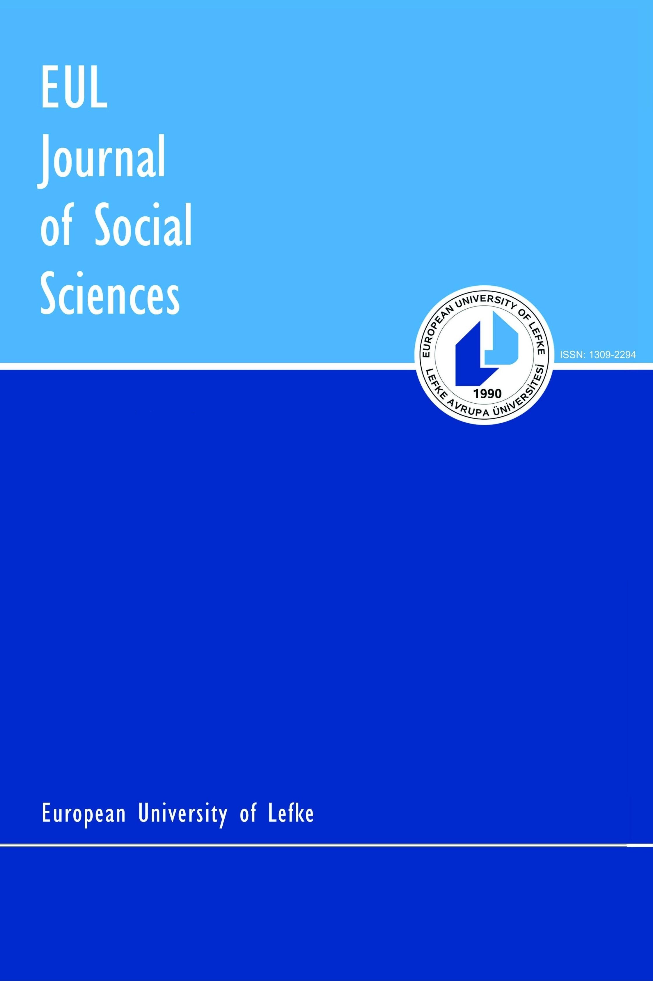 EUL Journal of Social Sciences