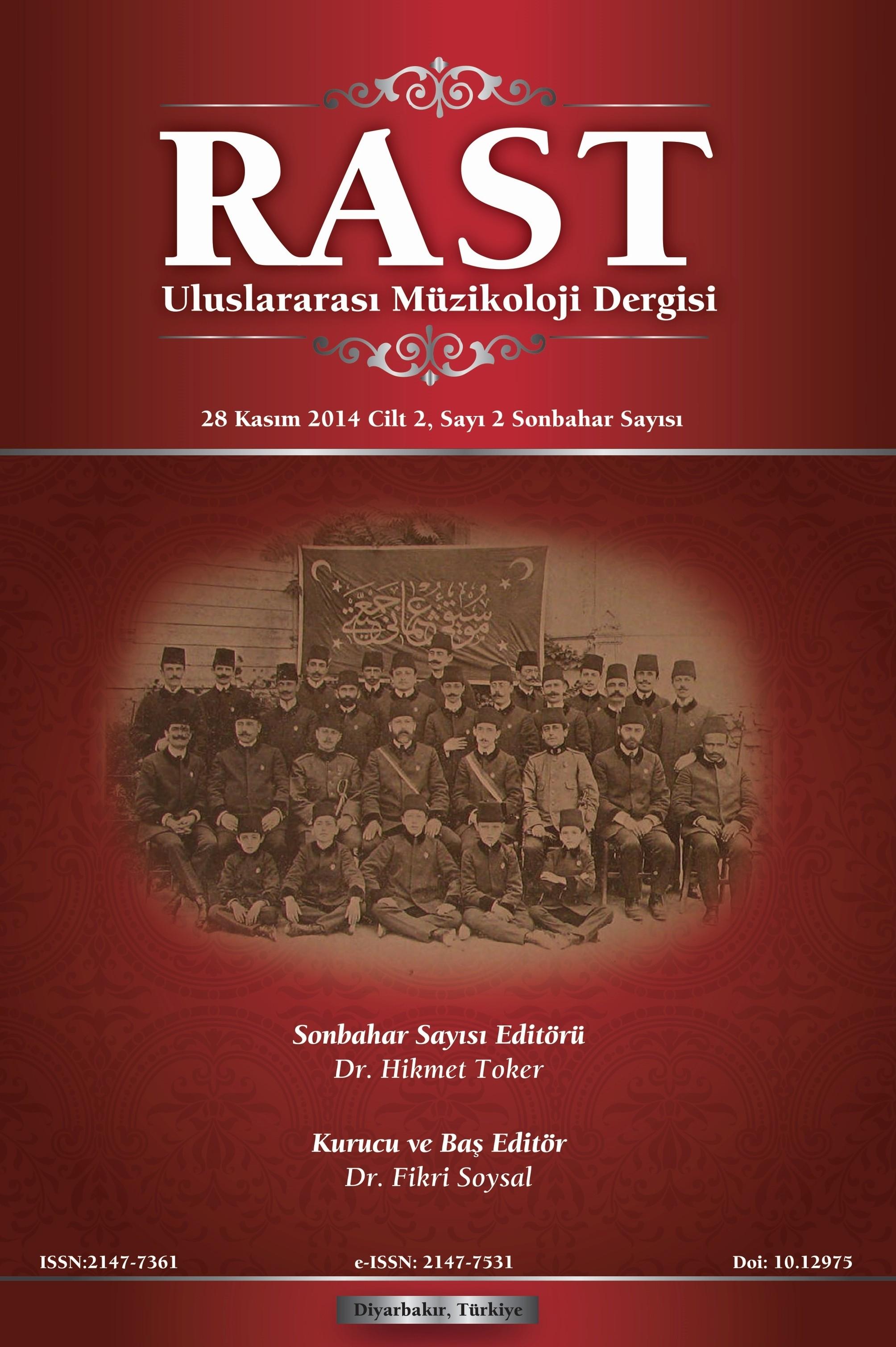 Rast Musicology Journal